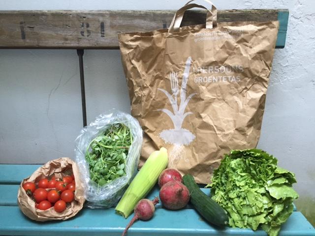 het voordeel van een groentepakket
