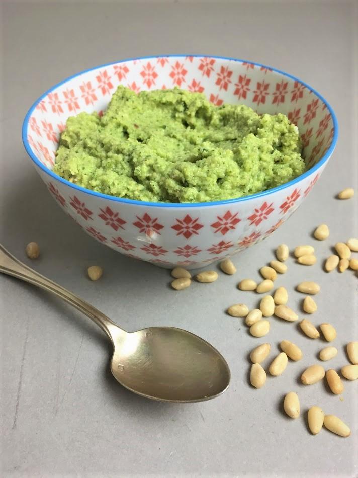 pasta met broccolipesto, groenten, biologisch, recept, makkelijk, broccoli, vegetarisch