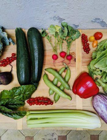 seizoensgroenten van juli met bijpassende recepten, groenten, gezond, vegetarisch, veganistisch